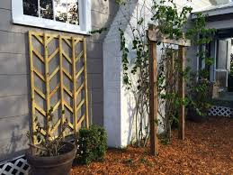 diy chevron lattice trellis tutorial remodelaholic bloglovin u0027