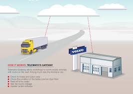 upcoming volvo communication system services trucks remotely sae