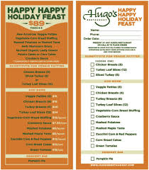 thanksgiving drive five picks for thanksgiving to go meals in the 818 ventura blvd