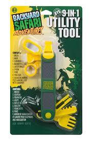 amazon com backyard safari 9 in 1 utility tool toys u0026 games