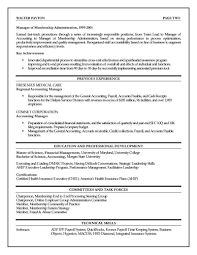 sample resume executive manager executive resume