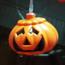 online shop halloween lights pumpkin shape string lights 10 20 led