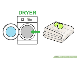 How To Wash A Feather Comforter How To Clean Comforters 13 Steps With Pictures Wikihow