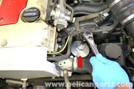 mercedes benz slk 230 oil change 1998 2004 pelican parts diy