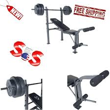 Cheap Weight Sets With Bench Cheapest Bench Press Set Bench Press Weight Set Cheap Bench Press
