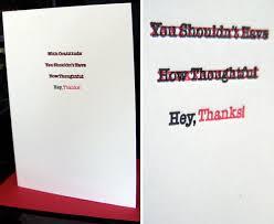 30 modern thank you cards design milk