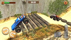 monster truck video game monster truck games offroad hill dash racing android apps on