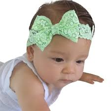 baby bow headbands baby bows light green bow baby bow headband sweet headband