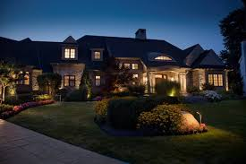 Design Landscape Lighting - warm landscape lighting design appealing outdoor landscape