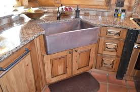 Hammered Copper Apron Front Sink by When And How To Add A Copper Farmhouse Sink To A Kitchen