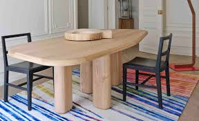 dining room furniture collection rough dining table made to measure customization sculptural