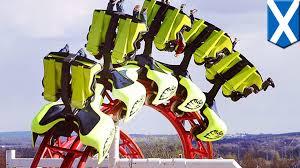 roller coaster derails in scotland 10 kids adults injured at