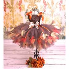 thanksgiving tutu harvest couture tutu dress