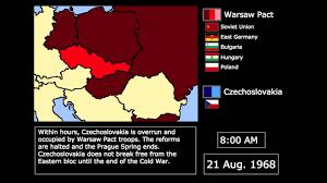 Czechoslovakia Map Wars The Warsaw Pact Invasion Of Czechoslovakia 1968 Every