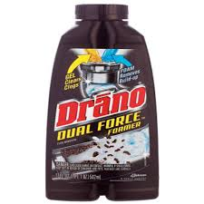 drano 17 oz dual force foamer clog remover 8 pack 14768 the
