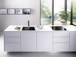 kitchen clear glass window design ideas with blanco sinks also