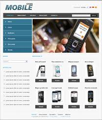 mobile store templates free web templates free css templates