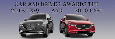 mazda car and driver is recognized on car and driver s 10 best trucks and suvs