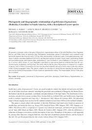 van gent lexus phylogenetic and biogeographic relationships of gerbil mice