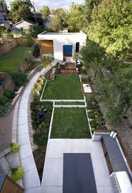 inspirational backyard landscape designs as seen from above images