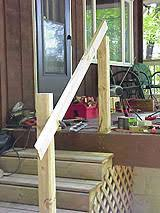 How To Make A Banister For Stairs How To Build A Basic 2x4 Handrail For A Deck Or Balcony