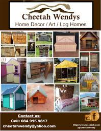 cheetah wendy u0027s home decor art log homes international ads