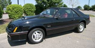 Black Mustang Car Black 1982 Ford Mustang Gt Hatchback Mustangattitude Com Photo