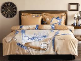 Brown And Blue Bed Sets Bed Linens And Comforters From Pierre Cardin Adding Chic To Modern