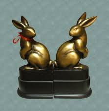 bunny bookends april 2017 affordable chic
