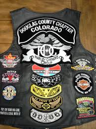 motorcycle jacket vest patch sewing u0026 custom patches biker brad u0027s motorcycle apparel