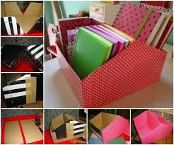 cara membuat lemari buku dari kardus bekas cara membuat tempat buku dari kardus sepatu atau kardus yang tidak