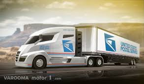 concept semi truck 6 next generation concept vehicles to replace the u s mail truck