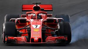 ferrari f1 formula one ferrari s kimi raikkonen fastest on final day of f1 pre