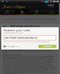 free gift card code free play redeem codes