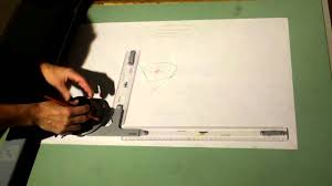 Vemco Drafting Table Vector Addition By Hand And Machine Youtube