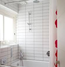 grouting bathtub tile dark grout white tile bathrooms