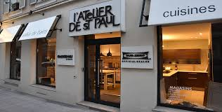 showroom cuisine cuisine atelier de paul