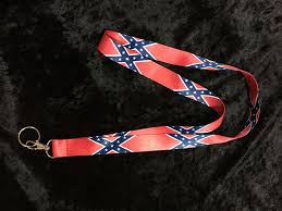 Rebel Flag Image Confederate Flag Lanyard Confederate Shop
