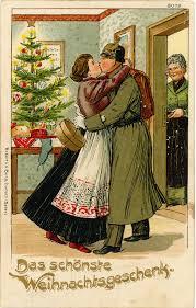 wwi german christmas postcard