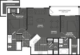 2 Bedroom Ranch Floor Plans by 2 Bed 2 Bath Apartment In San Antonio Tx The Estates At Briggs