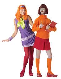 Ladies Halloween Costumes Uk Daphne Velma Scooby Doo Ladies Couple Costume Womens Halloween