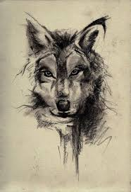 wolf but something like this but of misha