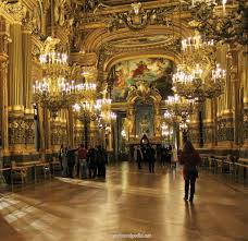 Grand Foyer Palais Garnier Opera House Paris
