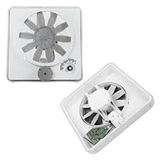Rv Bathroom Fan Blade Replacement Amazon Com New Hengs Vortex Ii White Variable Multi Speed 12v 12