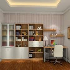 stunning interior design ideas for study room with brown wooden