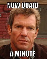 Dennis Meme - so easy to mistake kevin costner for dennis quaid wasn t dennis