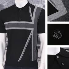 British Flag Shirts Merc London Mod Retro 60 U0027s British Union Jack Flag Knit S S Polo