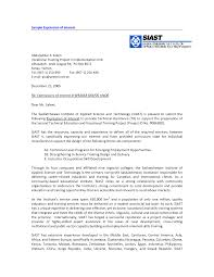 expression of interest cover letter example gallery letter