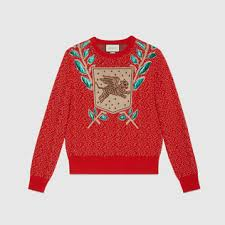 sweater with s sweaters cardigans shop gucci com
