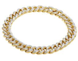gold bracelet with diamonds images 10k 14k 925 silver and genuine diamond bracelets jpg